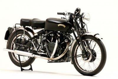 Vintage Black мотоцикл