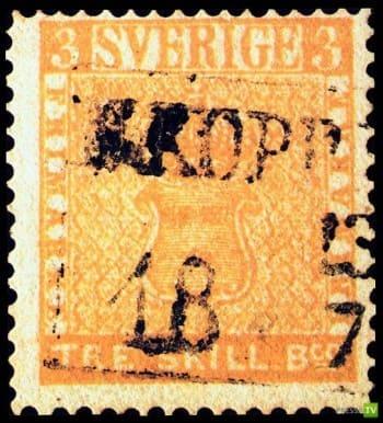 самая дорогая почтовая марка в мире