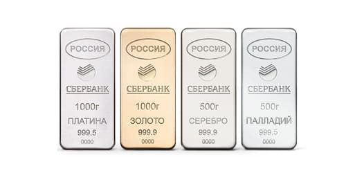 металлические счета сбербанк