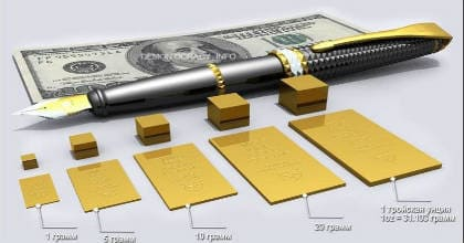 факты о золоте