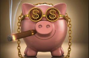 свинья с деньгами