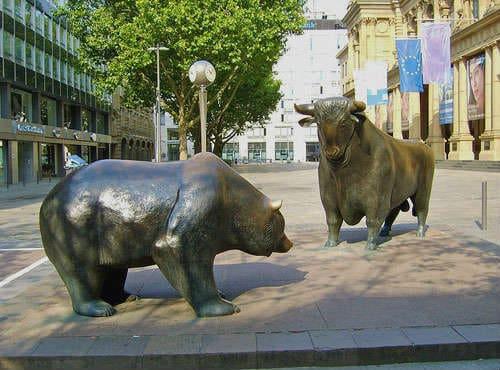 Франкфурт - напротив биржи
