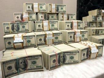 много денег в миллион