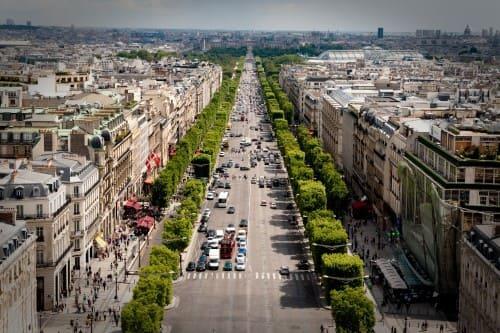 Avenue des Champs-Élysées париж самые дорогие улицы в мире