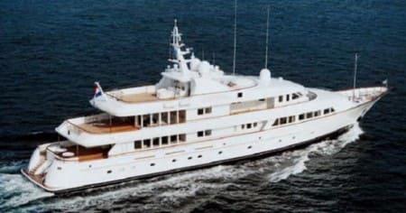 Olympia - яхта Абрамовича