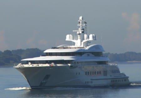 Pelorus - яхта Абрамовича
