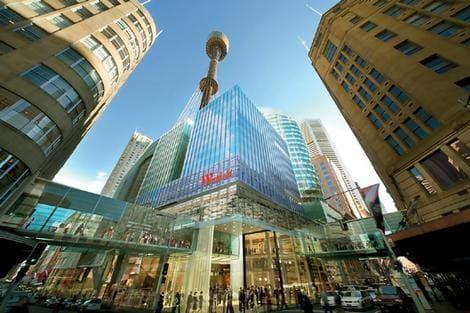 Pitt Street Mall сидней - самые дорогие улицы мира