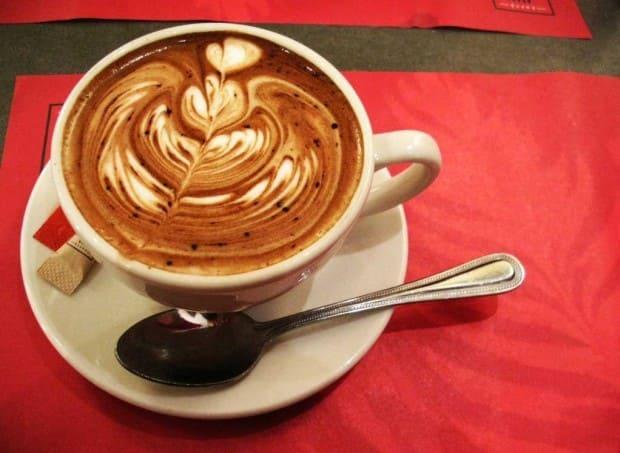 кофе утром красиво