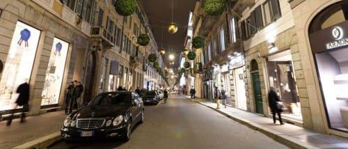 Via Montenapoleone - самые дорогие улицы в мире Милан Италия