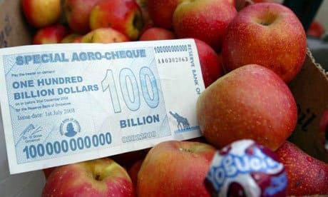 самая большая инфляция в мире