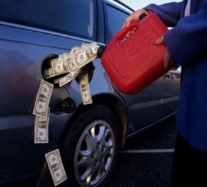 экономим на бензине