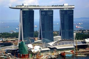 самый дорогой отель в Сингапуре