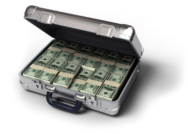Миллион долларов в кейсе