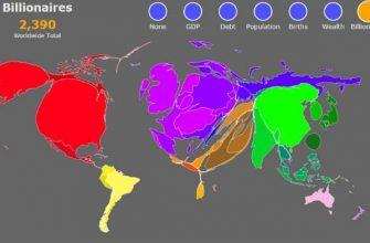 миллиардеры в странах мира
