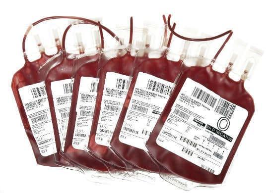 Сколько стоит 450 мл крови