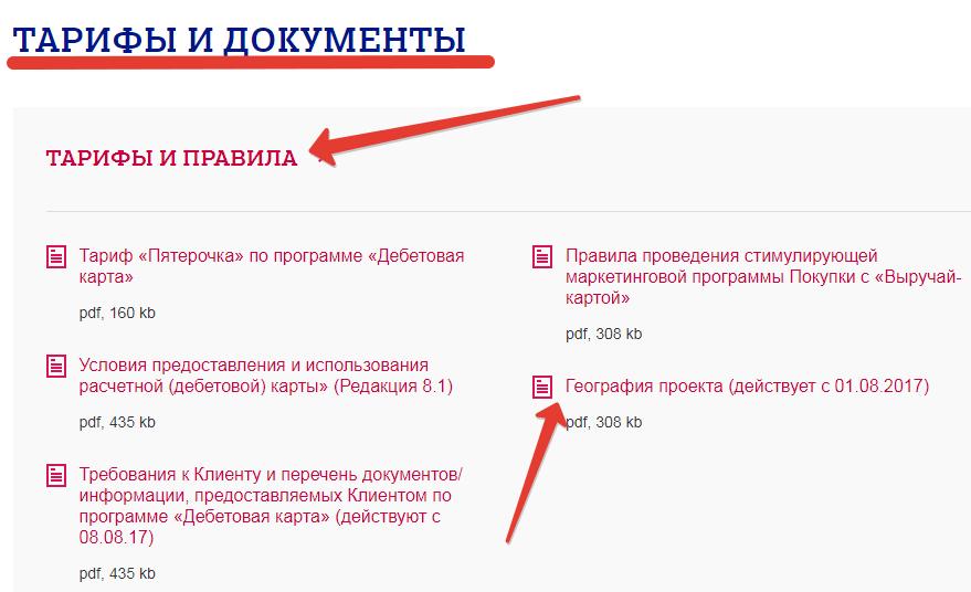 Документы и договора Почта банк