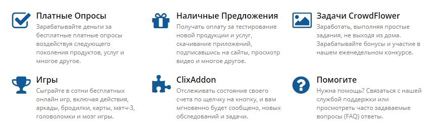 Способы заработка на кликсенс