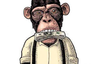 Деньги во рту
